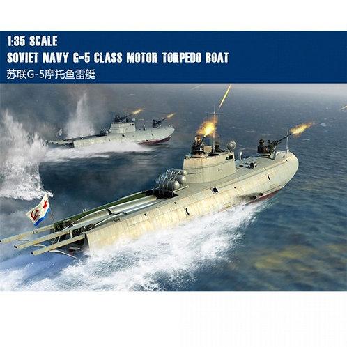(под заказ) Советский торпедный катер типа Г-5 - Merit International 1:35 63503
