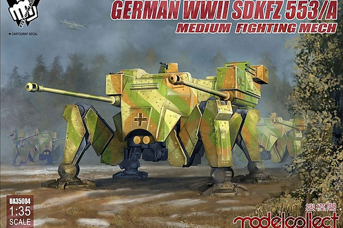 German WWII Sdkfz 553/A medium fighting Mech - Modelcollect 1:35 UA35004