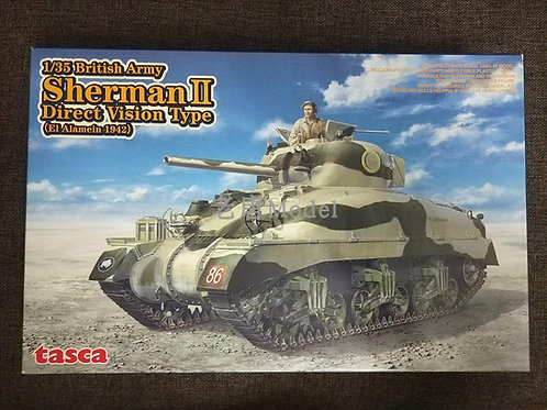 Танк Sherman II direct vision type, El Alamein 1942 - Tasca / Asuka 35014 1:35