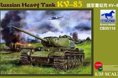 Советский тяжелый танк КВ-85 - Bronco CB351101:35