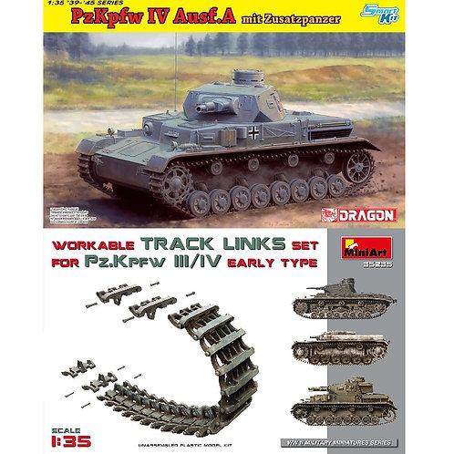 Pz.IV Ausf.A с доп. броней - Dragon 6816 1:35 + НАБОРКА MiniArt