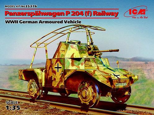 ICM 35376 1/35 Железнодорожный Panzerspahwagen P204(f)