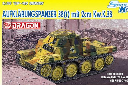 Aufklarungspanzer 38(t) mit 2cm Kw.K.38 Panzer 38(t) - Dragon 1:35 6294