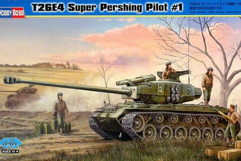 Танк Супер Першинг T26E4 Super Pershing Pilot #1 - Hobby Boss 82426 1:35