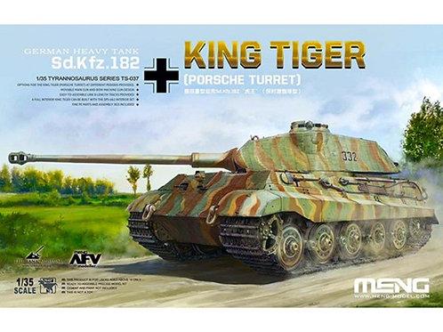 (под заказ) Королевский Тигр Порше / King Tiger Porsche - Meng Model TS-037 1/35
