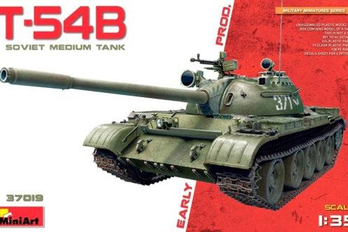 Советский танк Т-54Б ранний выпуск - MiniArt 37019 1:35