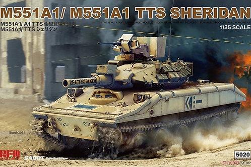 Американский танк M551A1/ M551A1 TTS Sheridan - RFM RM-5020 1/35