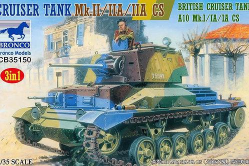 Британский танк Mk. II, IIA IIA CS - Bronco CB35150 1:35