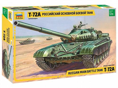 Российский основной боевой танк Т-72А - 3552 Звезда 1/35