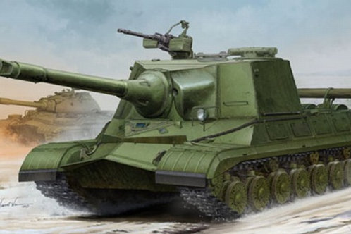 Советский прототип самоходки Объект 268 - Trumpeter 1:35 05544