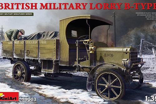 MiniArt 39003 1/35 Британский армейский грузовик 1МВ