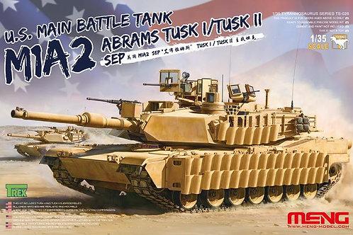 M1A2Abrams TUSK I/TUSK II SEP сборная модель Meng Model TS-0261:35
