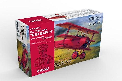 Red Baron Fokker Dr.I Triplane - MENG 1:32 QS-002s + бюст Рихтгофена