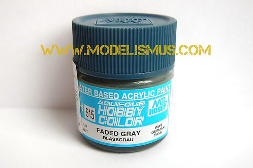 H-515 Краска акрил 10 мл FADED GREY WWII GERMAN TANK - GSI Hobby Color