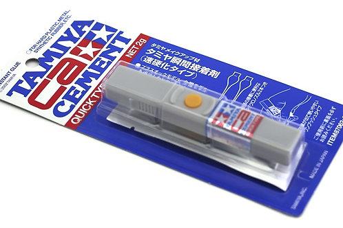 87062 Tamiya CA cement Quick type / Секундный клей цианоакрилатный моментальный