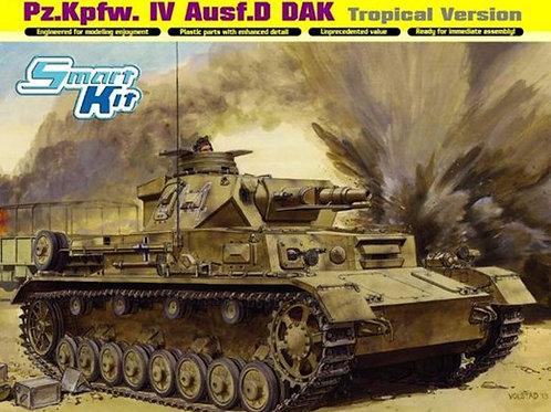 Танк Pz.Kpfw.IV Ausf.D DAK Tropical - Dragon 6779 1/35