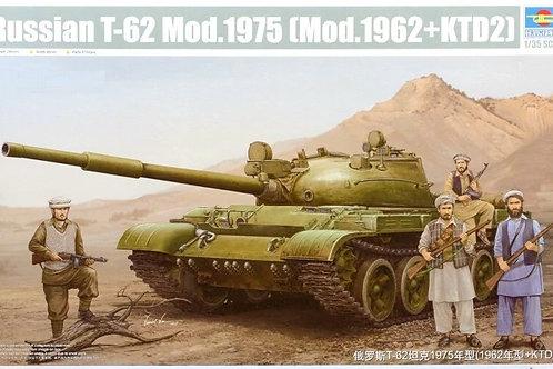 Советский танк Т-62 мод. 1975 года + дальномер КТД-2 - Trumpeter 01551 1:35