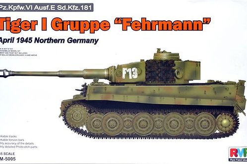"Tiger I Gruppe ""Fehrmann"" - Rye Field Model RM-5005 1:35"