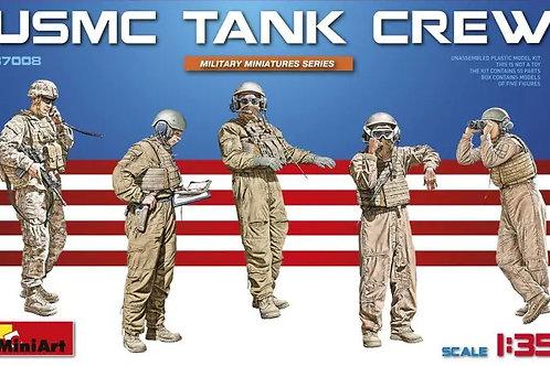 37008 Танковый экипаж корпуса морской пехоты США / USMC Tank Crew - MiniArt 1:35