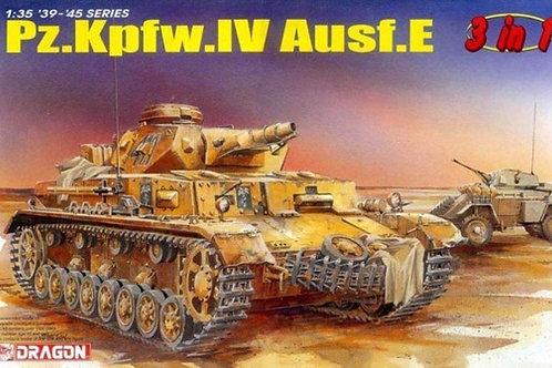 (под заказ) Раритет немецкий танк Pz.Kpfw.IV Ausf. E - Dragon 6264 1:35