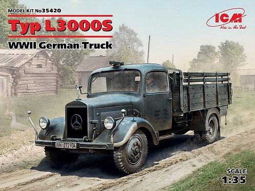 Немецкий грузовик Typ L3000 S Mercedes Benz L3000S - ICM 35420 1/35