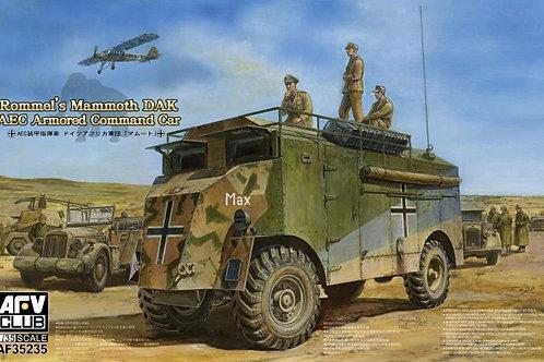 Штабной автомобиль AEC Эрвина Роммеля, Северная Африка - AFV Club 1:35 AF35235