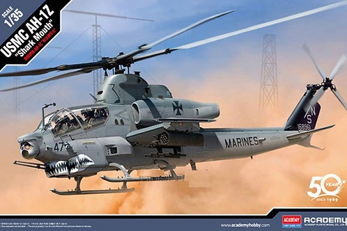 """(под заказ) Американский вертолет USMC AH-1Z """"Shark Mouth"""" - Academy 1:35 12127"""