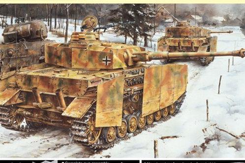 (под заказ) Pz. IV Ausf. J основная серия 1944 года - Dragon 6556 1:35