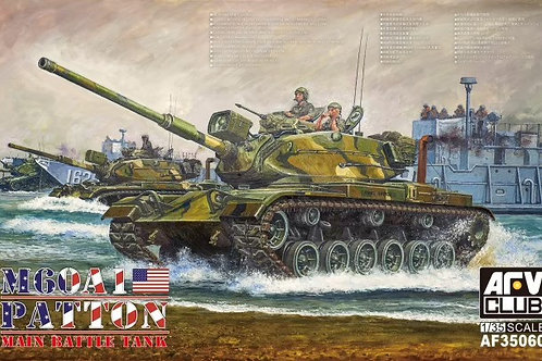 Танк Паттон M60A1 Patton Main Battle Tank - AFV Club 1:35 AF35060