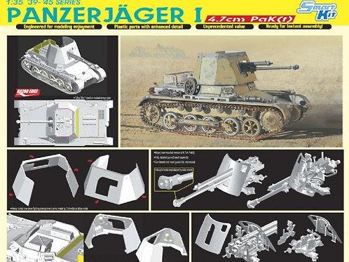 (под заказ) Самоходка Panzerjager I 4.7cm PaK(t) - Dragon 1:35 6230 (DS траки)