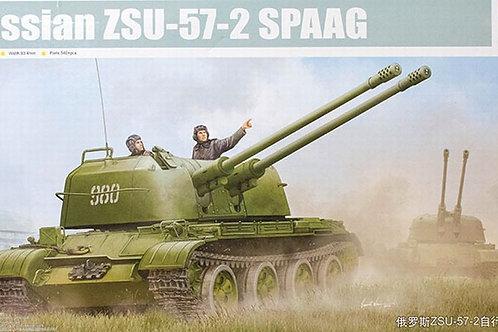 Зенитная установка ЗСУ-57-2 - Trumpeter 05559 1/35