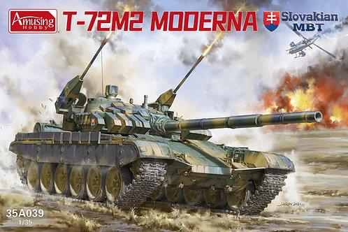 (предзаказ) Словацкий Т-72М2, Slovakian T-72M2 Moderna AMUSING HOBBY 35A039 1:35
