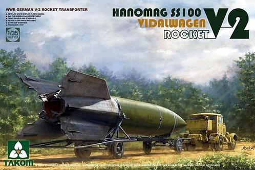 Hanomag SS100 V-2 Rocket Transporter - Takom 2110 1/35