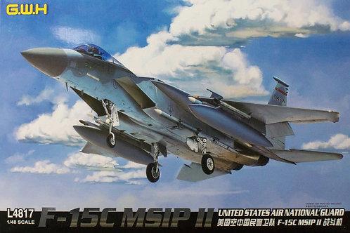 (под заказ) F-15C MSIP II United States Air National Guard - GWH 1:48 L4817