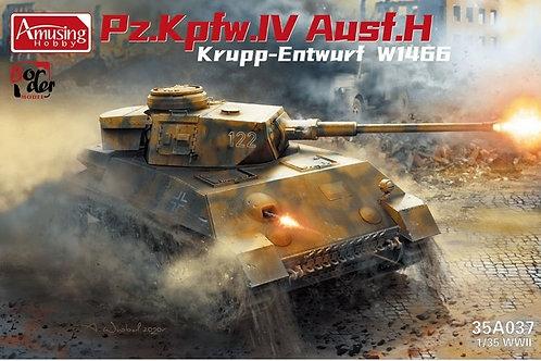 (под заказ) Panzer IV Ausf.H Krupp Entwurf W1466 - Amusing 1:35 35A037