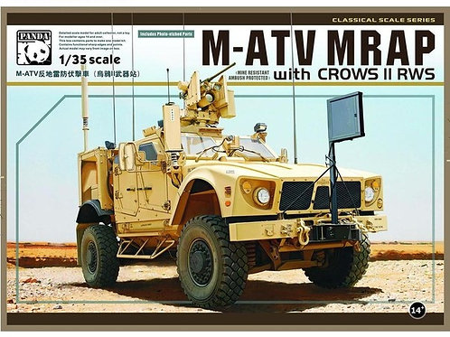 (под заказ) M-ATV MRAP with CROW II RWS - Panda PH35007 1:35