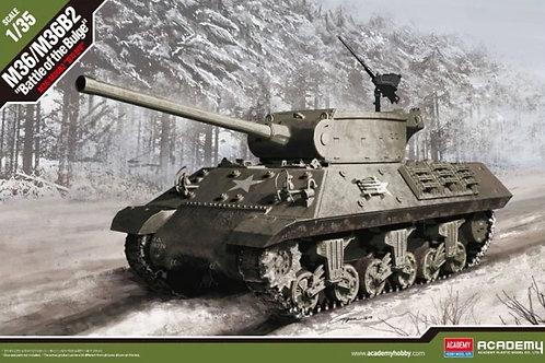 (под заказ) Самоходка M36/M36B2, Битва за выступ 1944 - Academy 13501 1:35