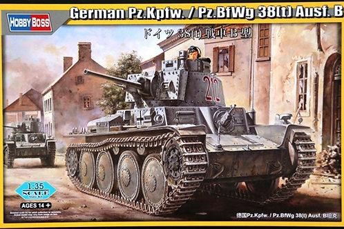 "Pz.38(t) Ausf.B (""Прага"") без интерьера - Hobby Boss 80138 1:35"