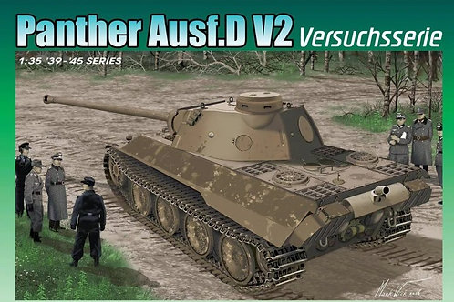 Немецкий танк Panther Ausf.D V2 Versuchsserie - Dragon 1:35 6830
