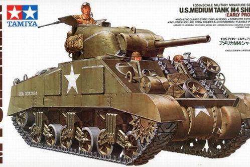 М4 Шерман ранний / M4 Sherman Early Production - Tamiya 1:35 35190