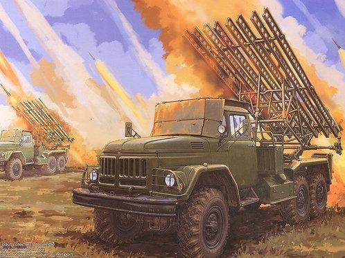 Советская боевая машина БМ-13 на шасси ЗиЛ-131 - Trumpeter 01062 1/35