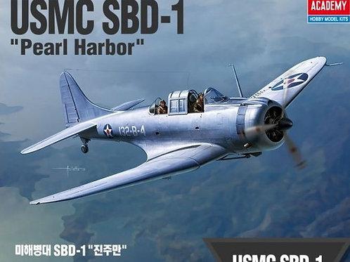 "USMC SBD-1 Dauntless ""Pearl Harbor"" Academy 1:48 12331"
