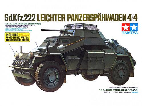 Немецкий бронеавтомобиль Sd.Kfz. 222 - Tamiya 1:35 35270