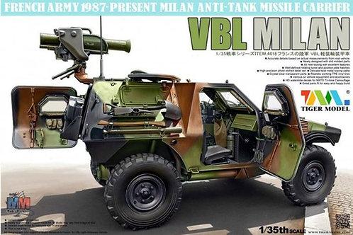 (под заказ) Бронемашина PANHARD VBL MILAN - Tiger Model 4618 1/35