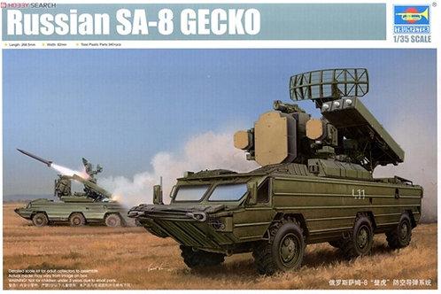 """Советский ЗРК """"Оса"""", SA-8 Gecko - Trumpeter 05597 1:35"""