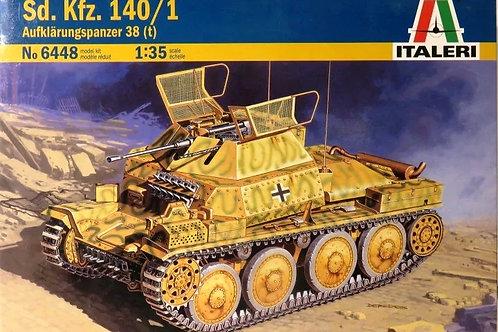 Разведывательный танкAufklärungspanzer 38(t) Sd.Kfz. 140/1 - Italeri 6448 1:35