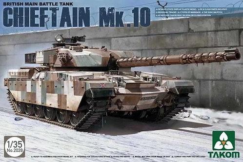 Британский танк Chieftain Mk.10 - Takom 2028 1/35
