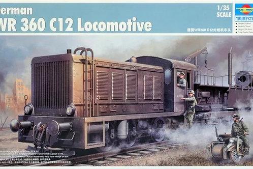 (под заказ) Дизельный локомотив WR 360 C12 - Trumpeter 1:35 00216