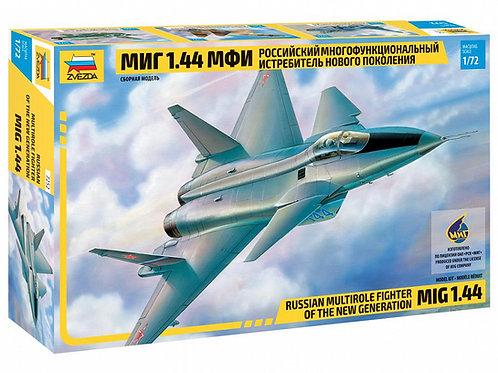 7252 Звезда 1/72 Российский истребитель МиГ-1.44 МФИ