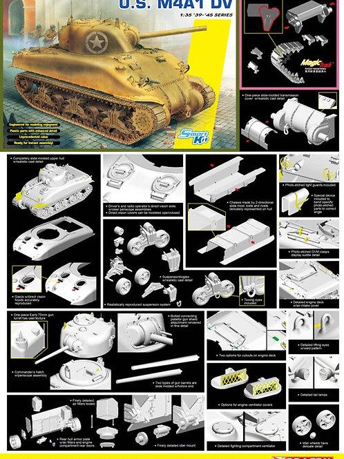 M4A1 DV Sherman + MAGIC Tracks - Dragon 6618 1/35